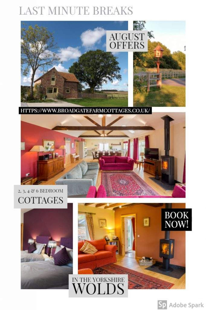 Offers at Broadgate Farm Cottages