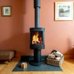 settle down in front of the wood burner