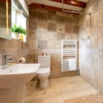 fully tiled wet room
