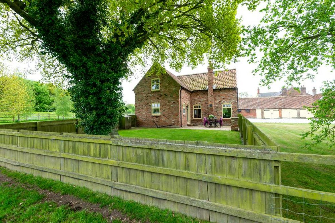 Forge cottage view from the fields