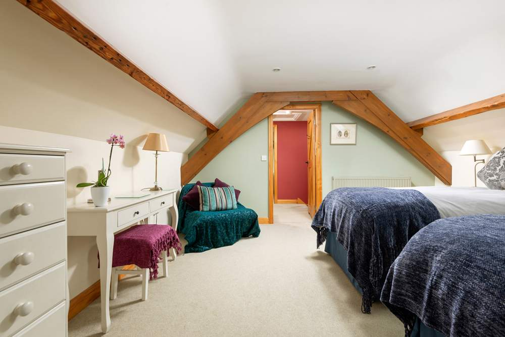 second bedroom can be twin or extra king and room for a put up bed