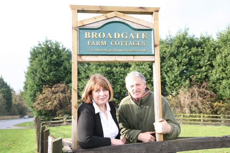 Elaine & Steve at Broadgate Farm East Yorkshire Holiday Cottages