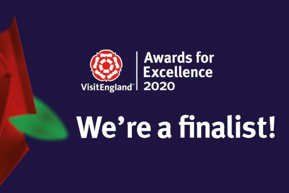 Visit England awards finalist logo
