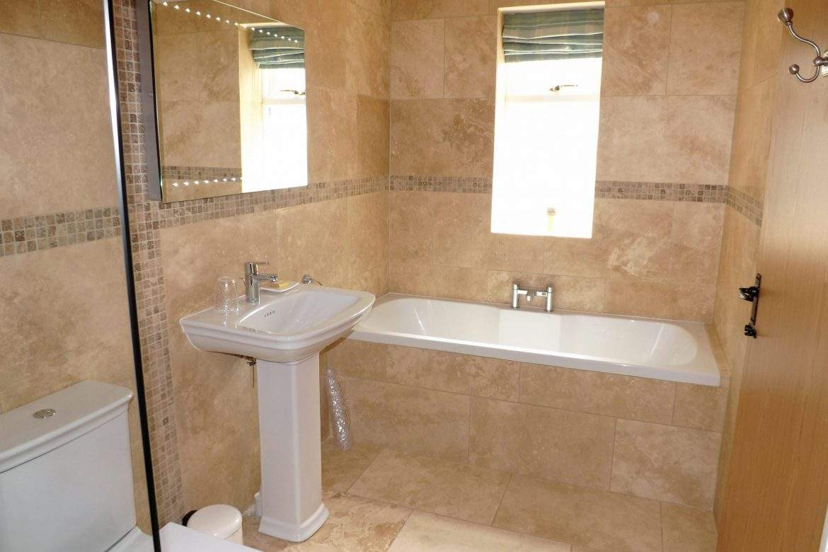 ensuite bathroom at broadgate farm cottages
