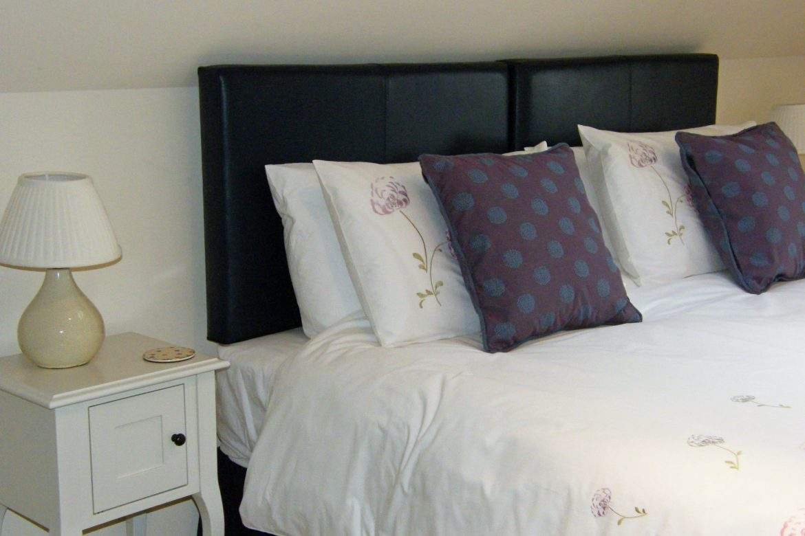 second bedroom as extra king forge at broadgate farm cottages