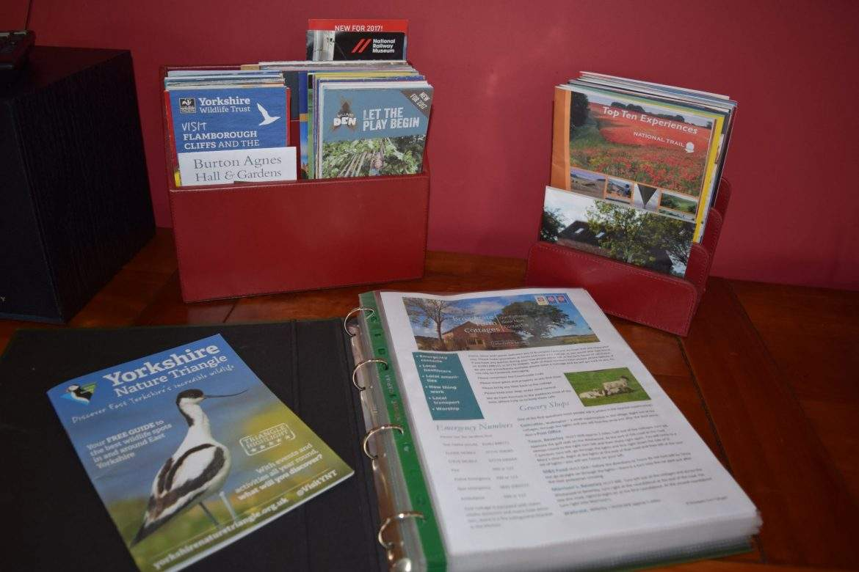 Guest information at Broadgate Farm Cottages
