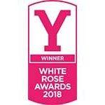 Winner of the white rose awards 2018