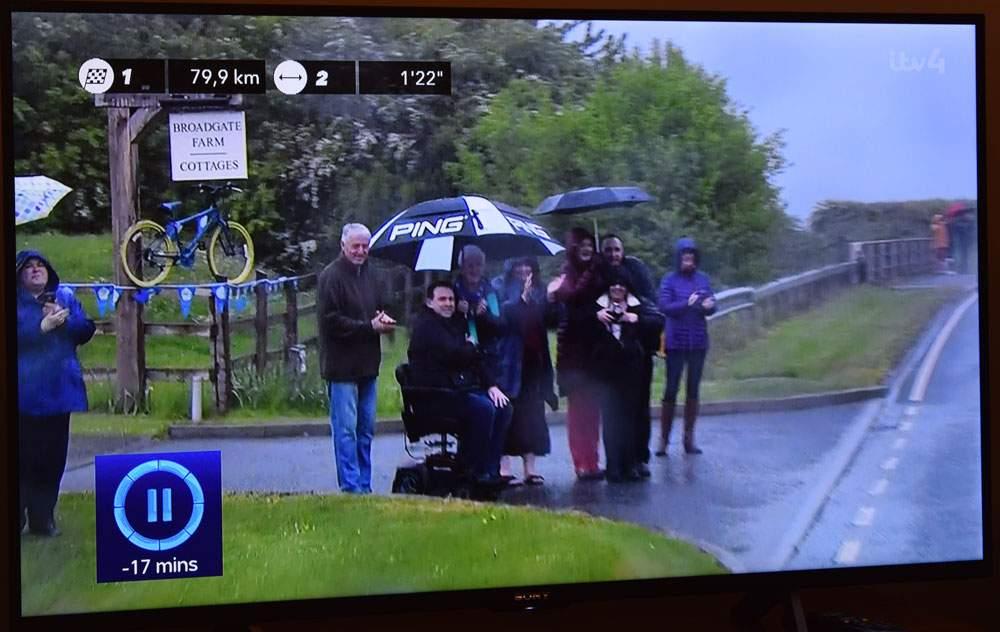 Watching the Tour de Yorkshire